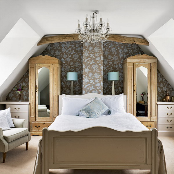 View ... & Turning The Attic Into A Bedroom u2013 50 Ideas For A Cozy Look