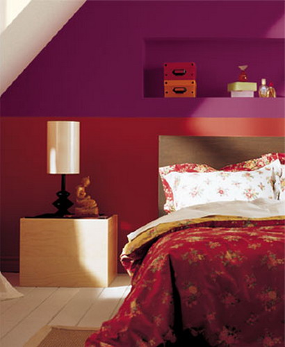 Bold Colors Give The Room