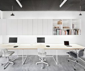 Basic office interior design in Paris