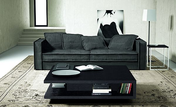 The modern, minimalist and elegant Beface coffee table