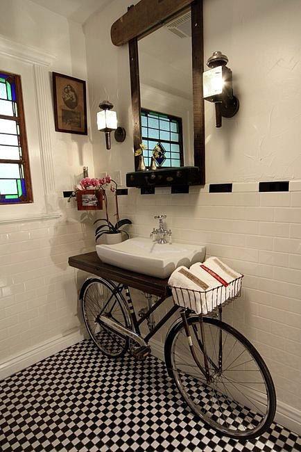 Bike bathroom