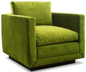 Simple and Casual Green Color Blakeley Chair