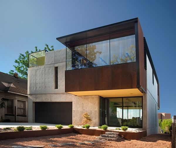 Oklahoma case study contemporary house for Modern box house design
