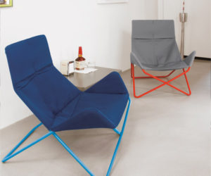 Flexible Modern Lounge Chair In-Out by Eric Degenhardt