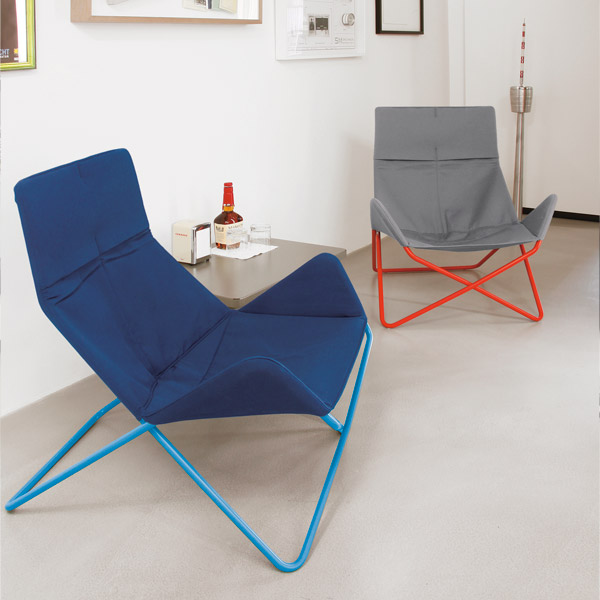 flexible modern lounge chair in out by eric degenhardt