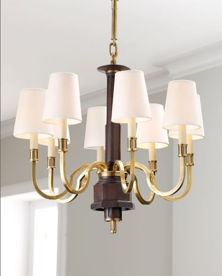 The retro Library Chandelier