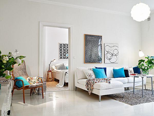 corner apartment in Sweden