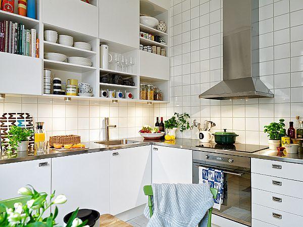 apartment in Sweden kitchen
