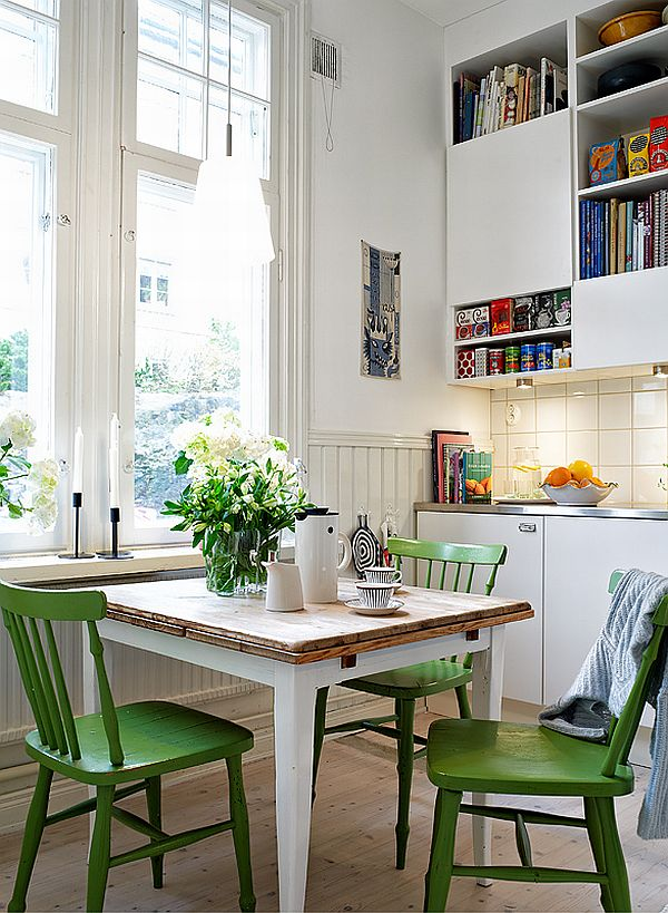 apartment in Sweden table