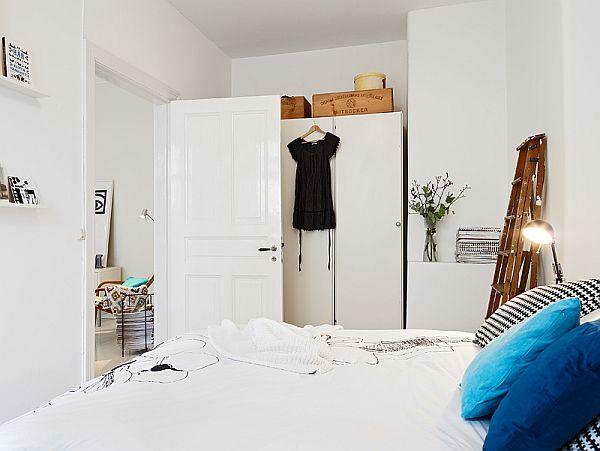 Bedroom apartment in Sweden