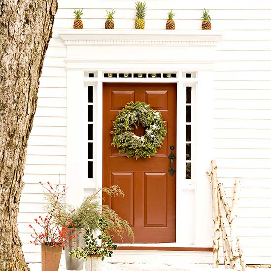 Door Decorating Ideas Home Decor And Design Image Of: Christmas Front Door Decorations Ideas
