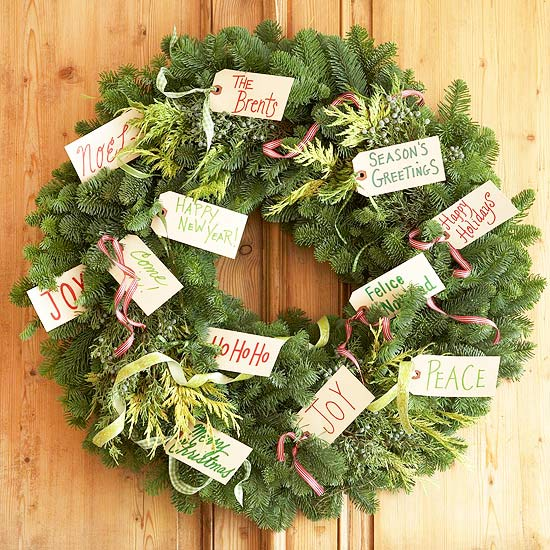 Superbe 40 Christmas Wreaths Ideas For 2011
