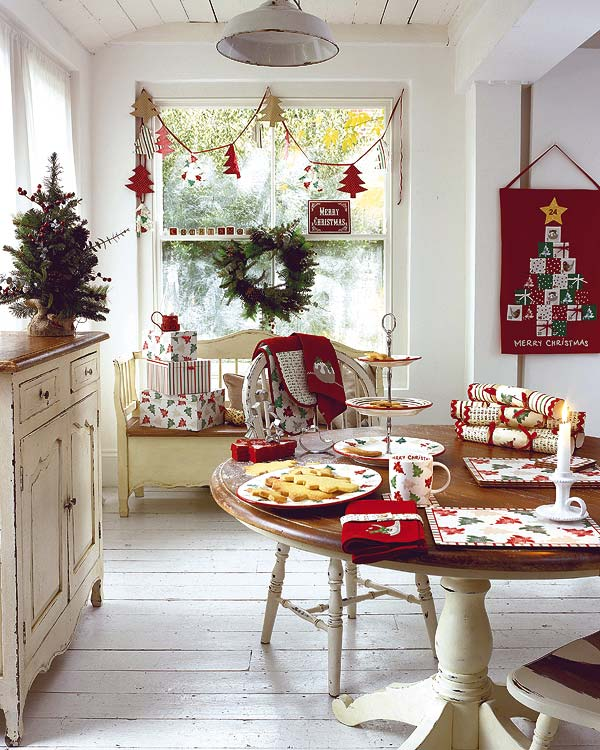 50 christmas table decorating ideas for 2011 - Christmas Dining Room Table Decorations