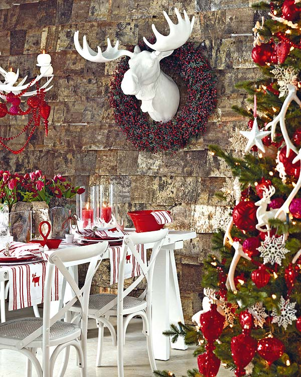 50 christmas table decorating ideas for 2011. Black Bedroom Furniture Sets. Home Design Ideas