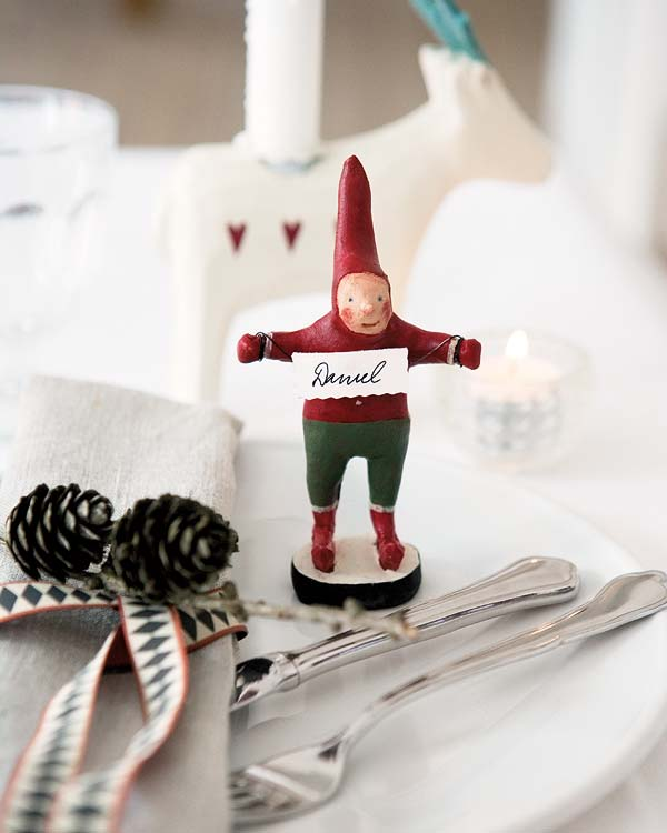 view in gallery - Christmas Table Decorations