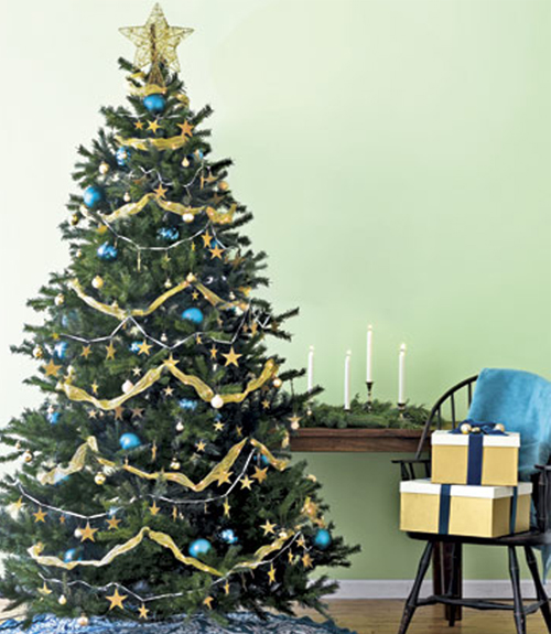 Christmas Tree Simple Decorating Ideas: Original Christmas Tree Decorating Ideas