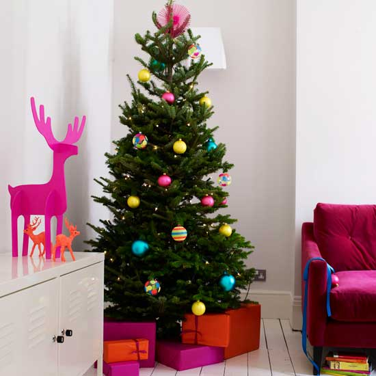 Christmas Tree Simple Decorating Ideas: 30 Christmas Tree Decoration Ideas For 2011