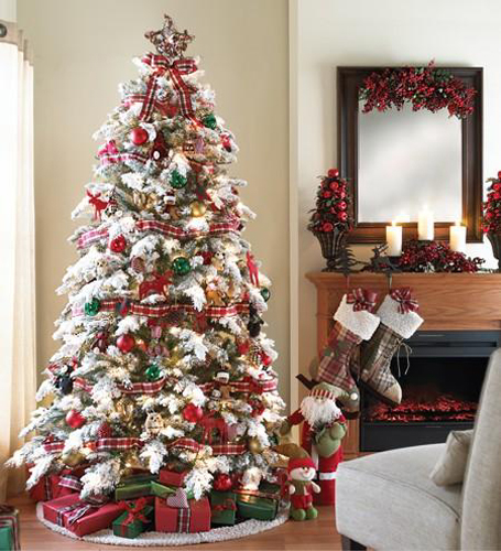 30 christmas tree decoration ideas for 2011 - Adornar arboles de navidad ...