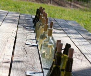 How To Build Or Upgrade An Outdoor Table With Built-in Cooler