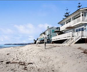 Three beach front houses for sale