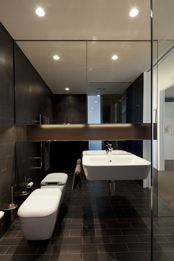 How to decorate an apartment bathroom for Modern apartment bathroom ideas