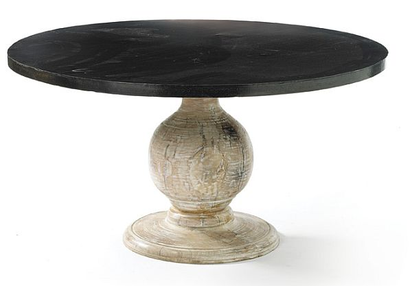 The Maverick round dining table