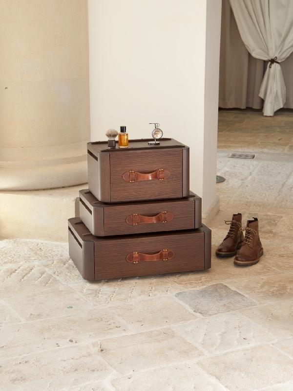 Original suitcase drawers