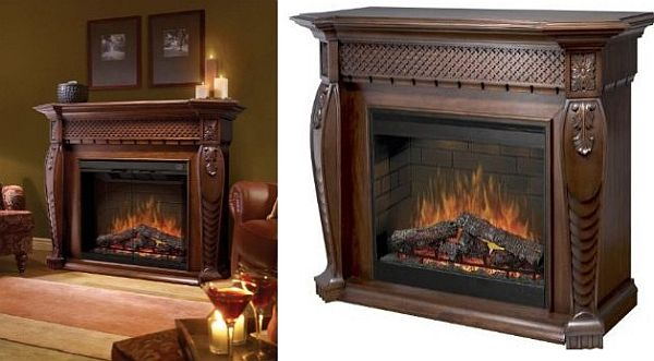 Cozy Dimplex Electraflame Vienna Electric Fireplace