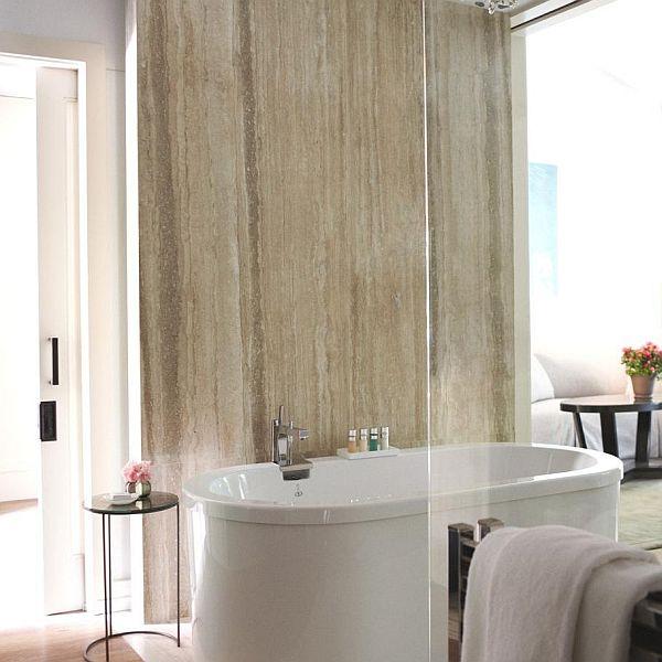 Hotel Bel Air in Los Angeles bathroom