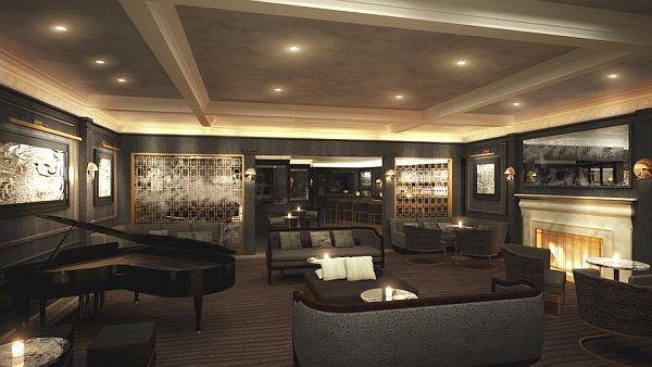 Hotel Bel Air in Los Angeles living room