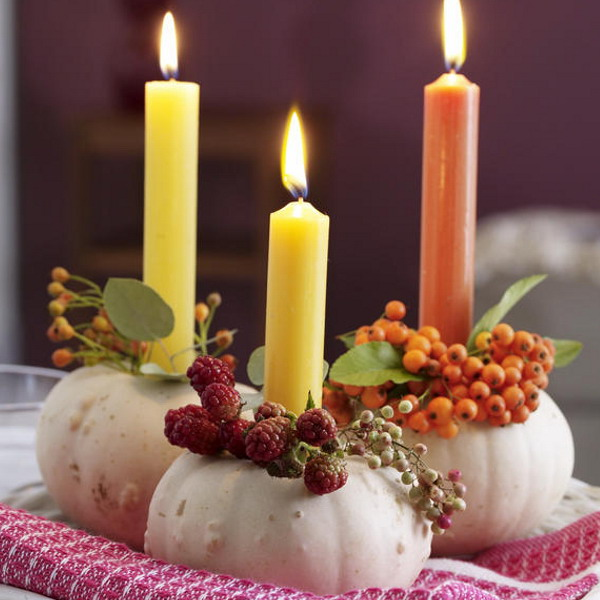 Thanksgiving Day Table Decorations - Table decorating ideas for thanksgiving