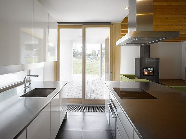 Modern family House kitchen