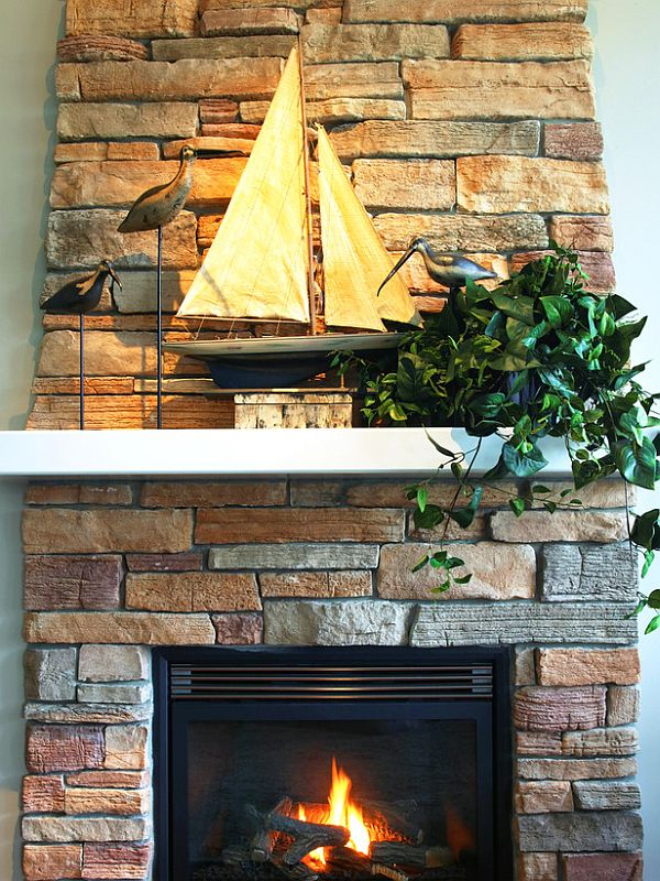 Fabulous 30 Fireplace Mantel Decoration Ideas Home Interior And Landscaping Dextoversignezvosmurscom