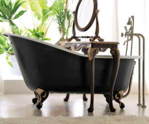 The beauty of freestanding bathtubs