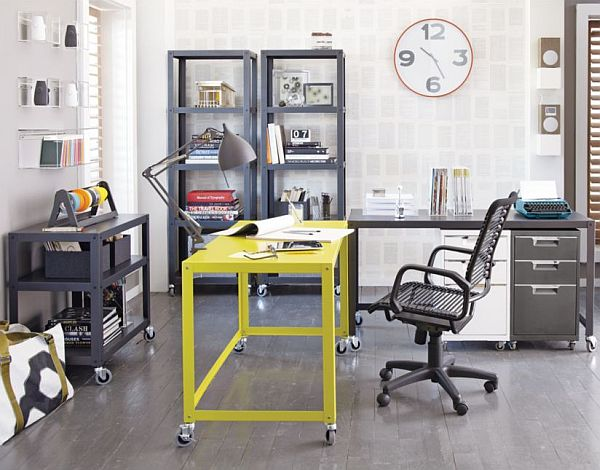 Go Cart Chartreuse Desk