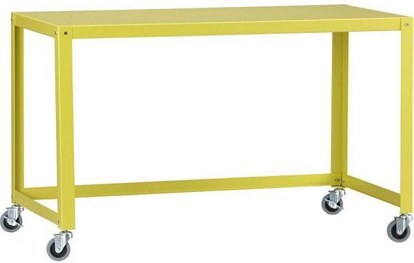 go-cart chartreuse desk