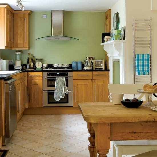 28 green and brown decoration ideas rh homedit com Lime Green Kitchen Green Painted Kitchen Cabinets Color