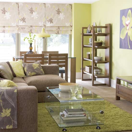 Living Room Paint Ideas Gallery 28 green and brown decoration ideas