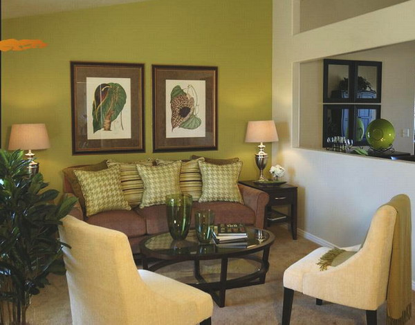 Green Living Room Ideas Beauteous 28 Green And Brown Decoration Ideas Design Inspiration