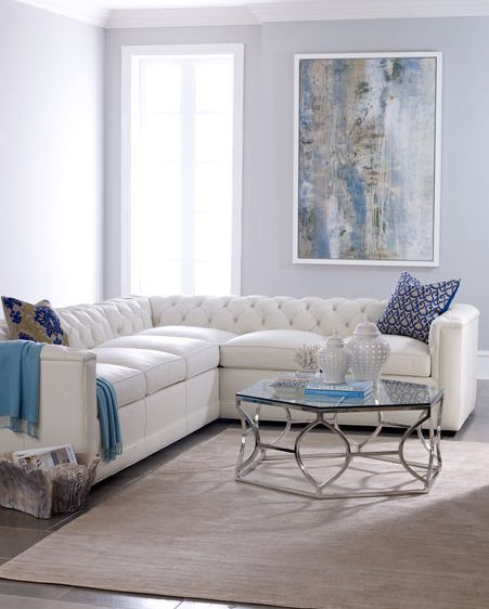 The Stylish Harper Leather Sectional Sofa
