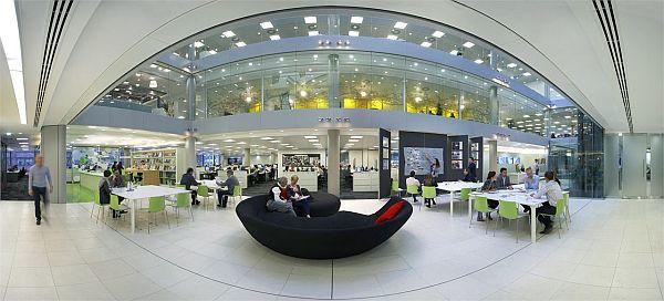 HOK's new office in London