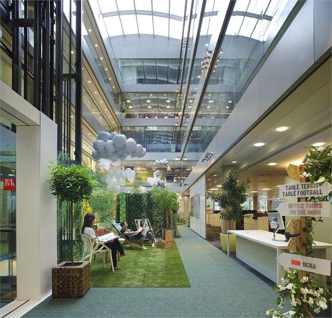 Hok S New Office In London
