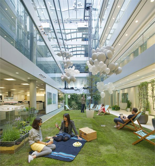 Hok S New Office In London