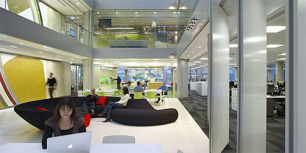 Hok s new office in london - Interior design colleges in london ...