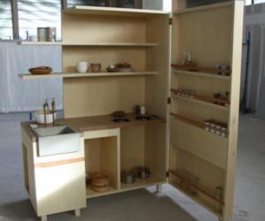 The Keukenkabinet: a kitchen inside a cabinet