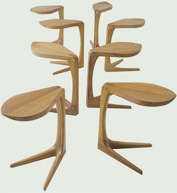 Sculptural Love Me Love Me Not Table