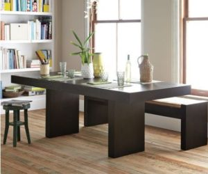 The minimalist Terra dining table
