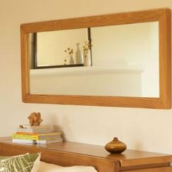 Muir Reclaimed Mirror And Floor Stand