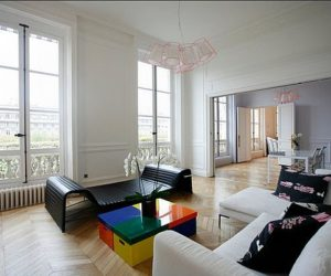 Artistic apartment renovation in Paris