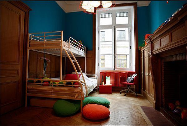 The second bedroom is used by her son, George